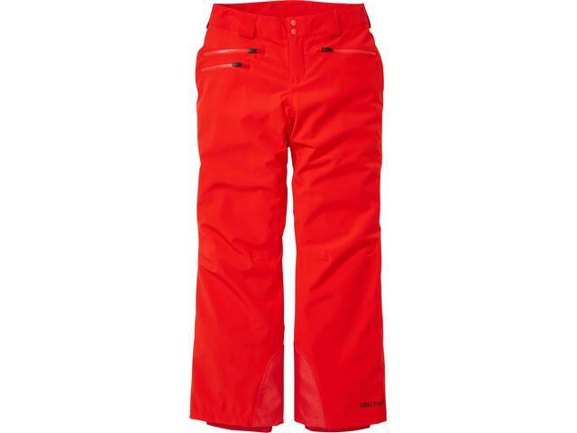 Marmot Slopestar Pantalones Mujer, rojo